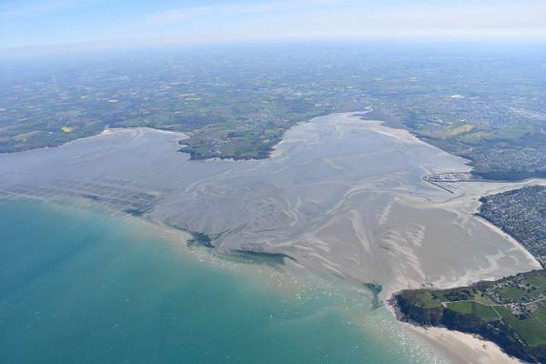 La Baie de Saint-Brieuc concentre une grande partie des algues échouées en ce début de printemps