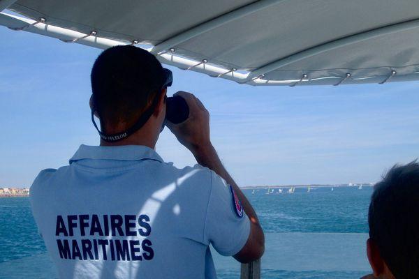 opération de sensibilisation et de contrôles des affaires maritimes sur le littoral gardois et héraultais