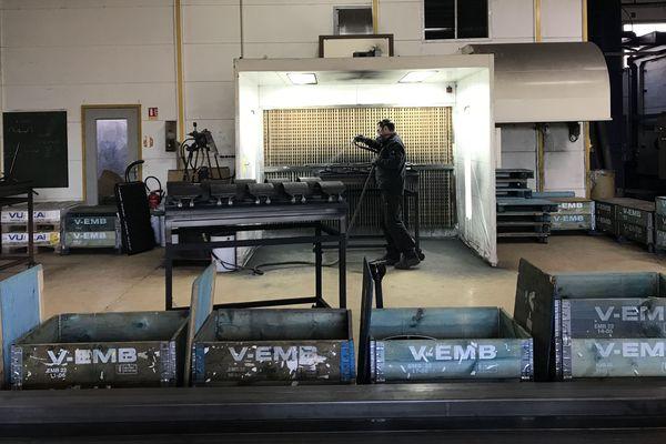 Page emploi  : Peret industrie à Limoges