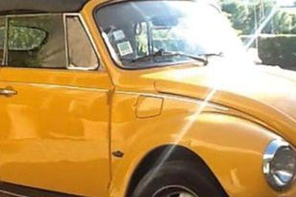 Véhicule Volkswagen modèle coccinelle luxe 1973