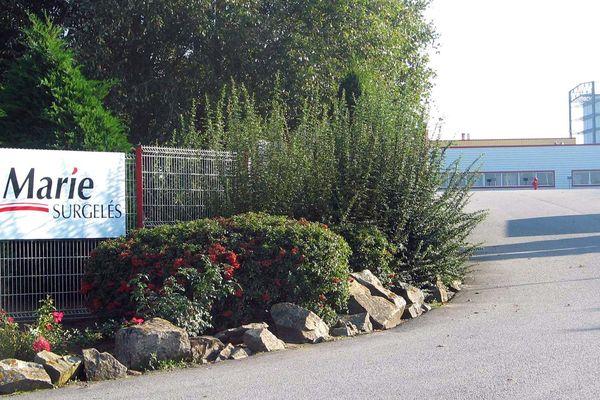 L'usine Marie Surgelés à Airvault (Deux-Sèvres) emploie 250 salariés