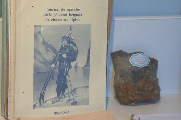 Musée du 67ème bataillon des chasseurs alpins de Bezencourt dans la Somme