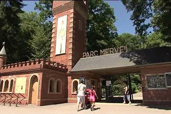 L'entrée du parc.