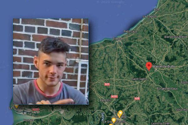 Le jeune homme de 19 ans n'a pas été vu à sa résidence de Bully depuis le 6 septembre 2021.