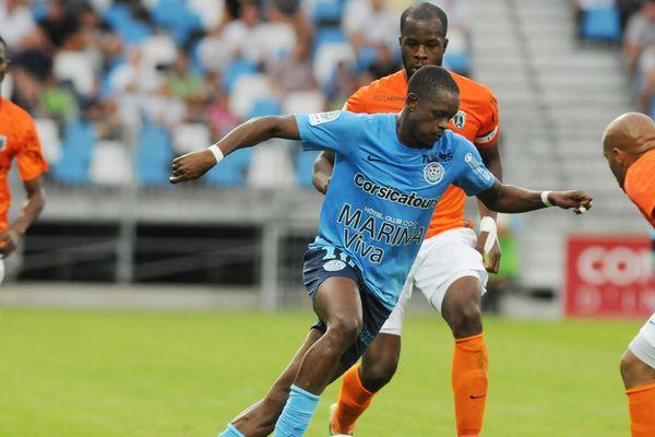 Christian Kouakou a encore été décisif pour le Tours FC en marquant le deuxième but du match