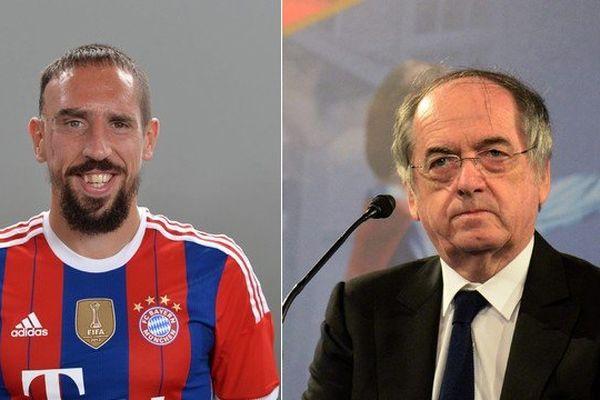 Le président de la FFF ne veut pas tirer un trait sur Franck Ribéry.