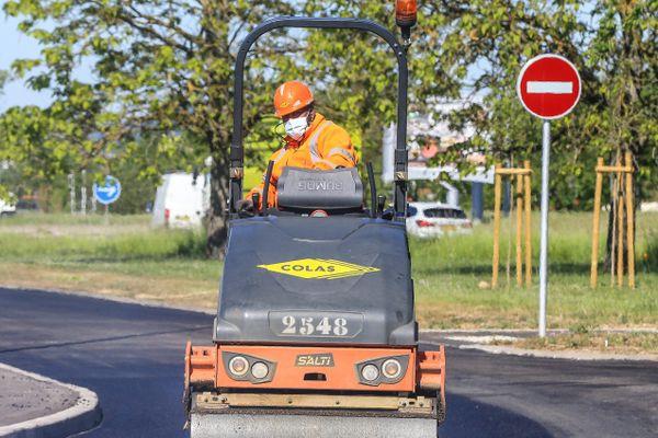 Le BTP, au ralenti pendant le confinement, est un grand pourvoyeur d'emplois en intérim.