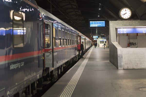 Un train de nuit Nightjet reliera Paris à Vienne en passant par Strasbourg à partir du 13 décembre 2021.
