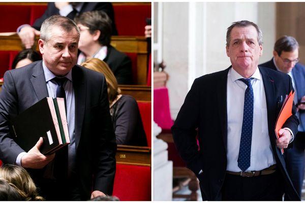 Frédéric Barbier et Denis Sommer, députés LREM du Doubs, à l'Assemblée nationale en 2019