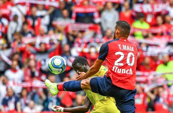 Thiago Maia en quête de temps de jeu.