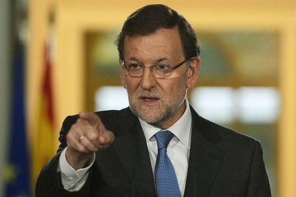 Rajoy s'oppose une nouvelle fois à l'indépendance de la Catalogne.