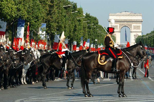 163 personnes issues du Grand Est seront présentes à la cérémonie du 14 juillet 2020 sur l'avenue des Champs-Elysées.
