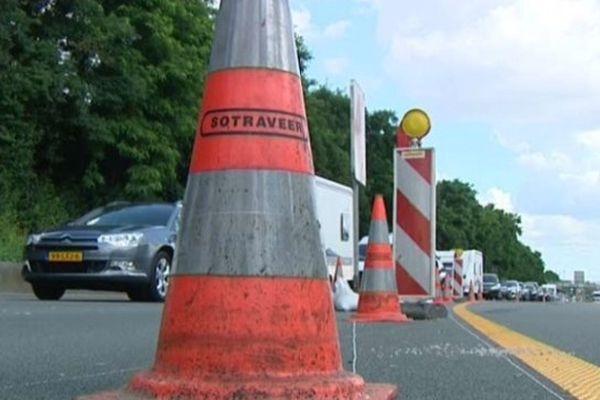 Les travaux sur l'autoroute A1, entre Carvin et Dourges, dureront jusqu'au 23 août.