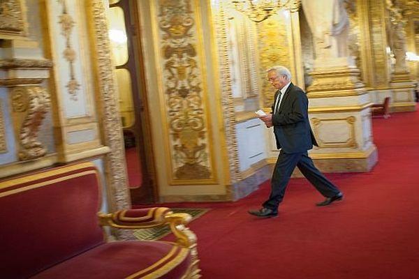 François Rebsamen, sénateur-maire de Dijon et chef de file des sénateurs socialistes