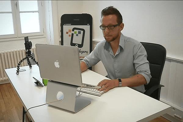 En un an, le logiciel WordApp.co de Davidd Sergent a été téléchargé plus de 100 000 fois.