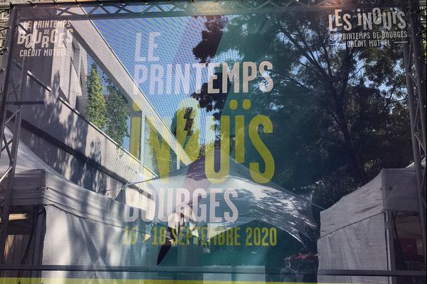 L'affiche des Inouïs du Printemps de Bourges 2020