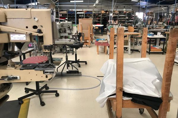 Les machines sont à l'arrêt, les ateliers vides et le personnel de l'entreprise Piganiol d'Aurillac est en chômage partiel.