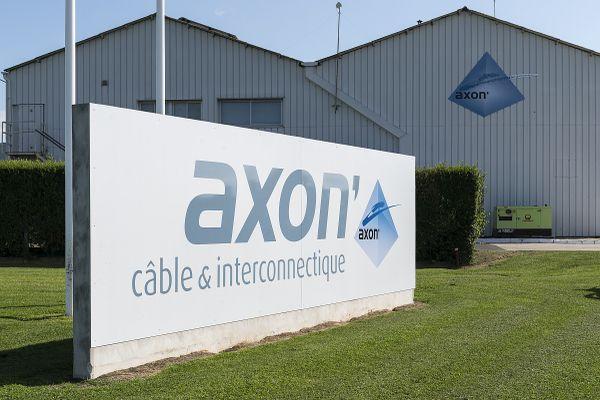 La société Axon'Cable est implantée à Montmirail, dans le sud-ouest de la Marne.