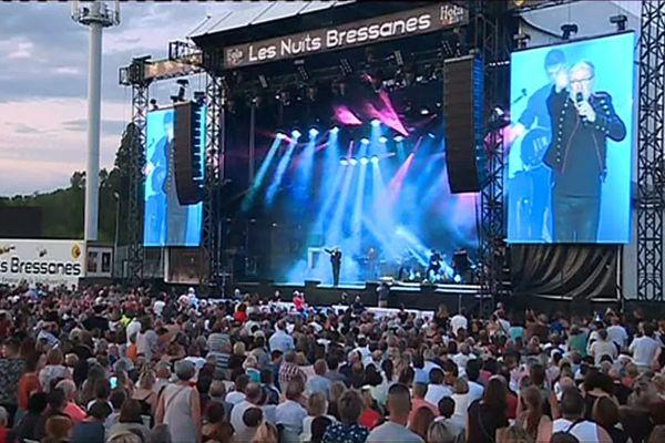 Chaque année, le festival Les Nuits Bressanes attire des milliers de fans au stade de Bram, à Louhans, en Saône-et-Loire.