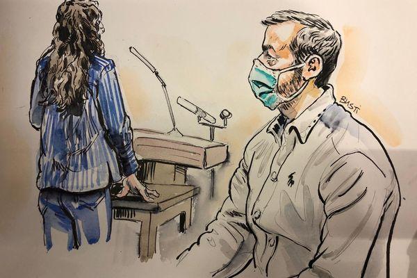 Une ex-compagne de Nordahl Lelandais témoigne devant la cour d'assises