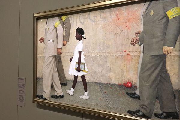 """""""Ce problème qui nous concerne tous """" : la toile de Norman Rockwell est exposée au Mémorial de Caen"""