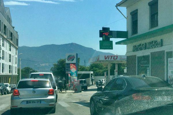 La Corse est placée en vigilance jaune canicule. Localement les températures peuvent atteindre les 40 °C.
