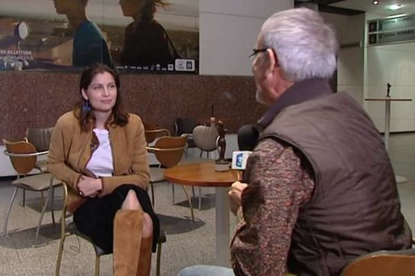 Laetitia Casta a accordé une interview à Jean-Michel Escafre et France 3 Languedoc-Roussillon - 29 octobre 2016