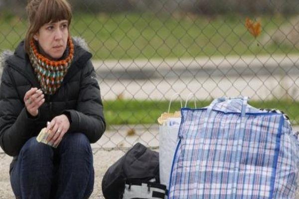 La militante basque Aurore Martin quitte la prison de Soto del Real près de Madrid, le 22 décembre 2012
