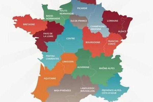 La nouvelle carte territoriale proposée par Carlos Da Silva, député PS de l'Essonne.