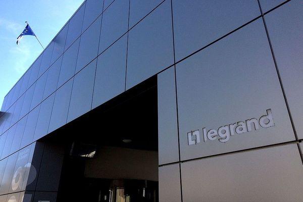 Le siège du groupe Legrand à Limoges
