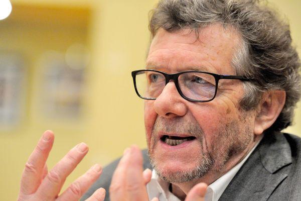 Jean Viard, candidat LREM dans la 5e circonscription de Vaucluse.