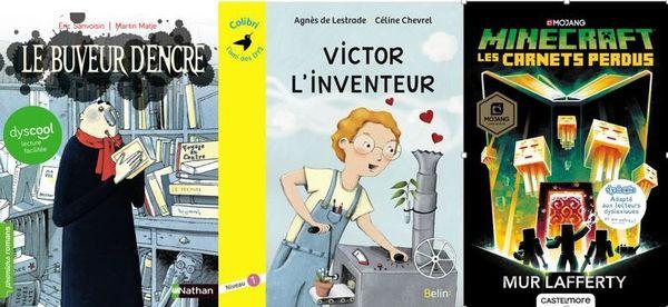 Plusieurs éditeurs ont créé des collections dédiées aux enfants dyslexiques.