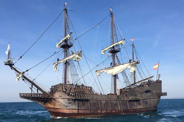 Sète accueille El Galeon,la seule réplique navigante des galions espagnols. Le public pourra le visiter jusqu'à dimanche.