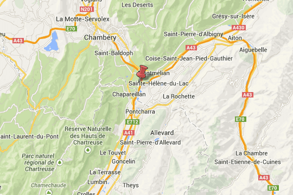 L'accident s'est produit à hauteur de Francin, en Savoie.