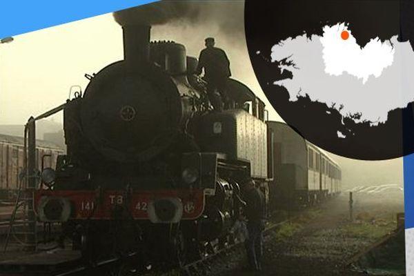 La vapeur du Trieux, que l'on charge au charbon