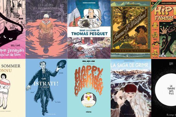 Les 10 albums qui concourent pour le Fauve d'Or 2018 au festival international de la BD à Angoulême