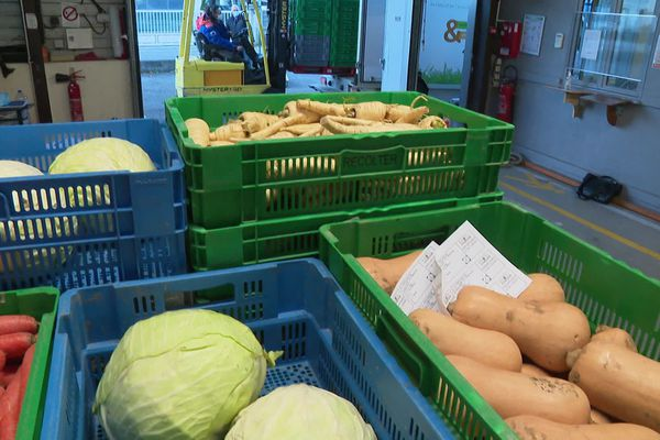 Des produits frais, dont manquent cruellement les bénéficiaires de la Banque alimentaire de l'Isère