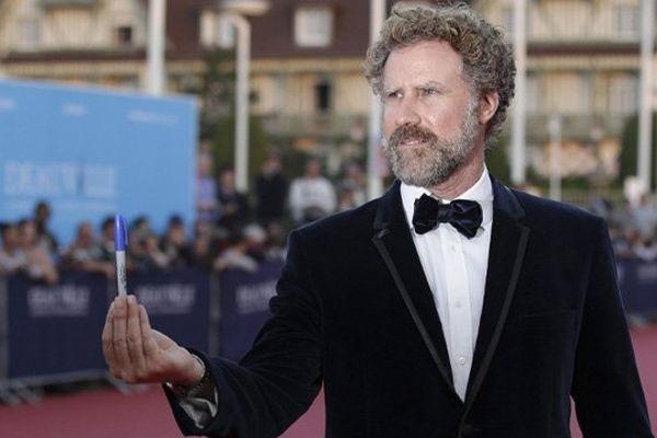 Will Ferrell sur le tapis rouge du festival du cinéma américain ce mercredi soir à Deauville