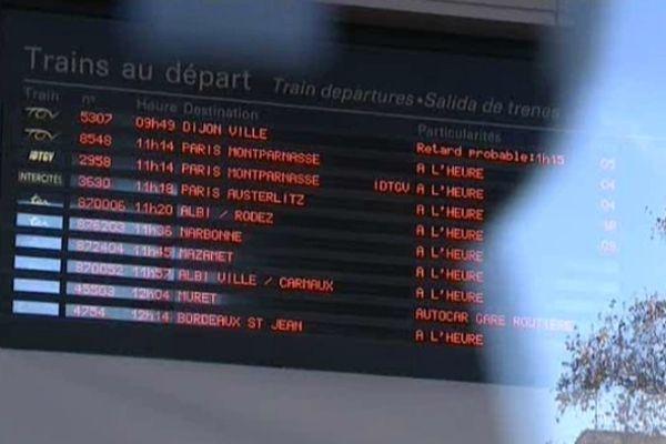 Les horaires des trains devraient être stabilisés en 2013.