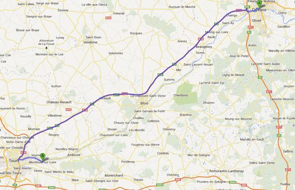 Maxime a disparu à Orléans le 6 janvier dernier. Sa carte bleue a été trouvée sur le corps repêché dimanche après-midi à Montlouis-sur-Loire.