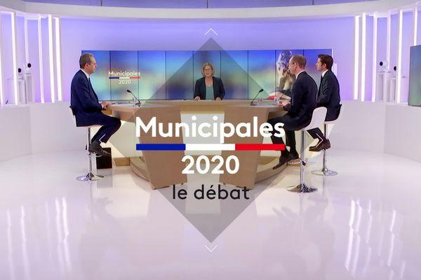 16 juin 2020 - Débat du second tour des élections municipales à Evreux