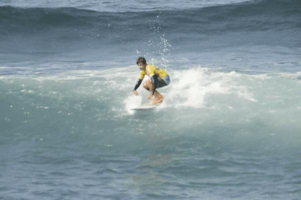 Benoît Carpentier est l'un des meilleurs surfeurs de sa génération