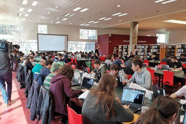 Environ 70 personnes ont participé à la 6e édition de Coding Up.