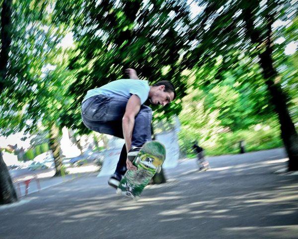 Arthur Noyer était un passionné de skateboard. A Bourges, un skatepark porte désormais son nom.