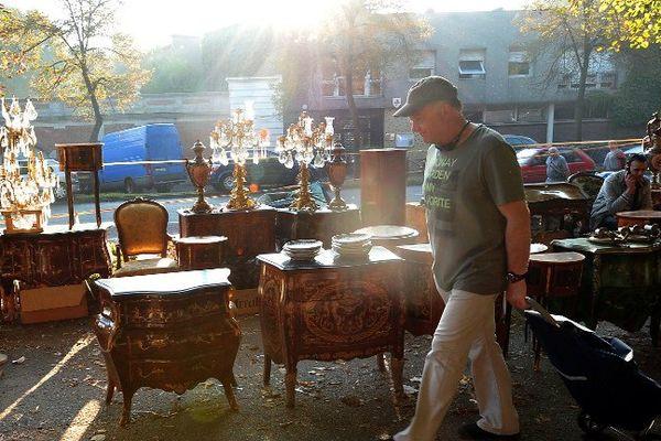 Le soleil risque de se faire rare cette année sur la Braderie de Lille selon, Météo France.