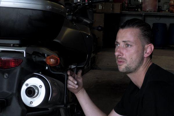 Christophe, le garagiste de Claviers