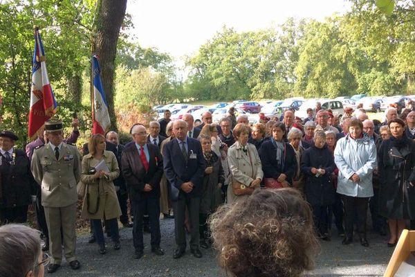 Ce samedi 30 septembre 2017 à Saint-Léger-Magnazeix en Haute-Vienne.