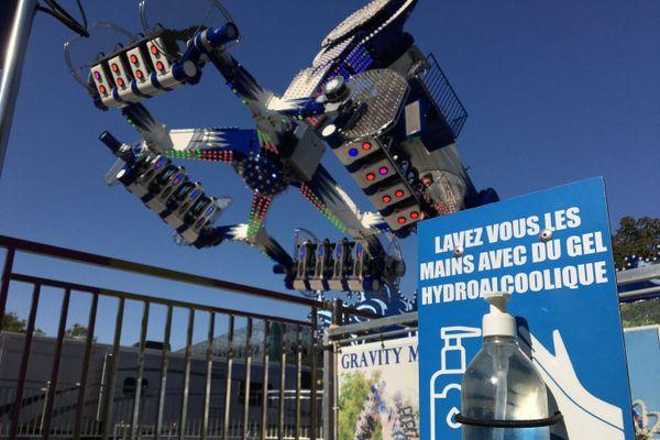 À la Foire d'automne de Nantes, sensations fortes garanties dans le respect des gestes barrières