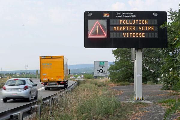 Le Haut-Rhin est concerné par les mesures de lutte contre la pollution atmosphérique.