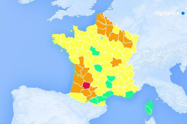 Vigilance orange crue sur 4 départements du Grand-Est